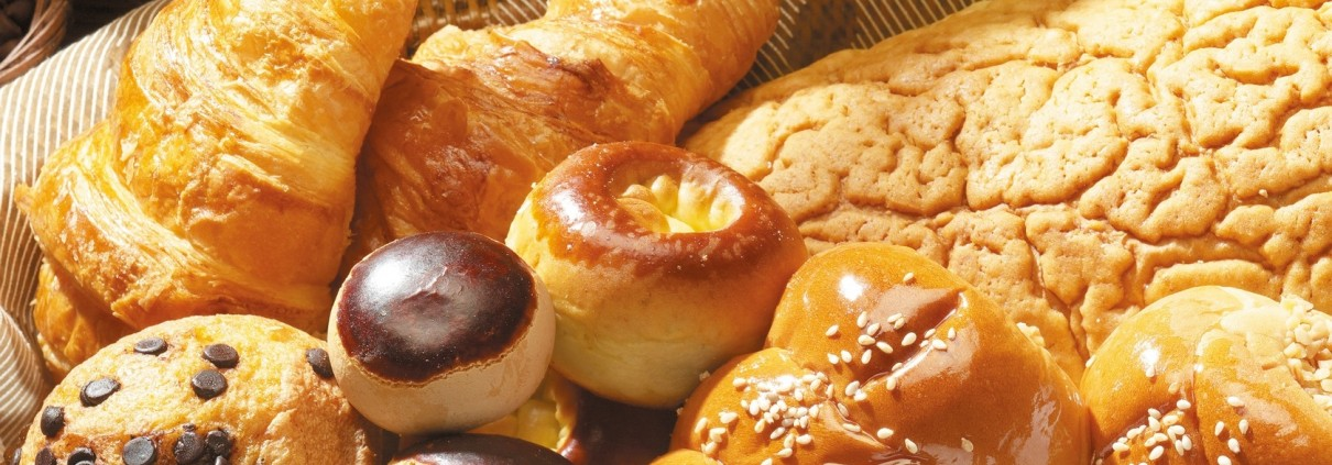 donuts, bread and sweets