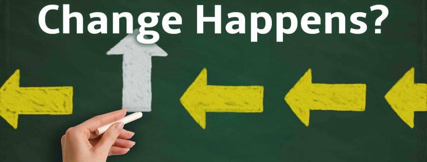 change happens on a chalkboard