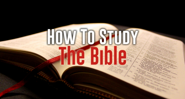 How to Study the Bible - Week 1 Image